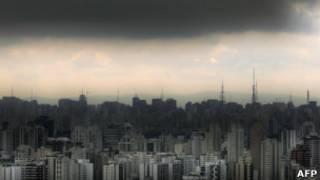 São Paulo, em foto de arquivo (AFP)