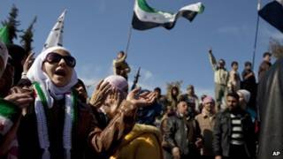 احتجاجات في سوريا