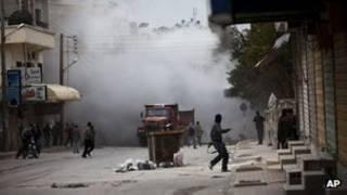 الانتفاضة السورية