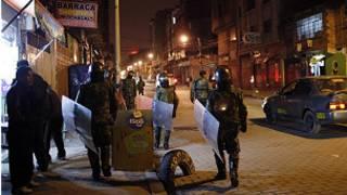 Soldados na Bolívia   Foto: AP