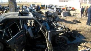 انفجار سيارة ملغومة في العراق