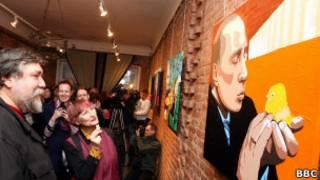 Выставка, посвященная Владимру Путину