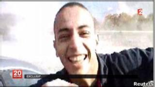 Mohamed Merah em imagem de vídeo.   Foto: Reuters