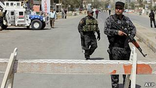 استعدادات امنية في بغداد