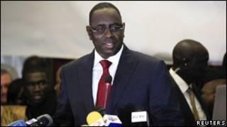 Macky Sall yatsinze amatora muri Senegal