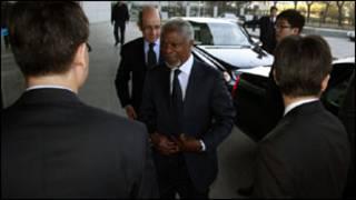 Kofi Annan mu kibazo cya Syria