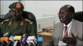 Imirwano hagati ya Sudan na Sudan yepfo