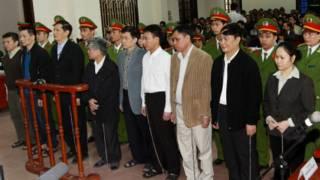 Các bị cáo vụ Vinashin ra tòa ở Hải Phòng