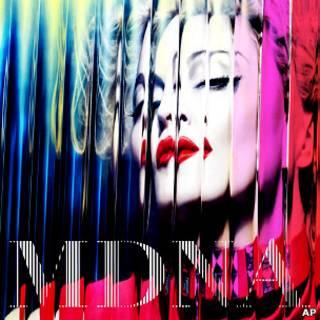 Обложка нового альбома Мадонны