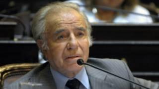 Carlos Menem | Foto: AFP (arquivo)
