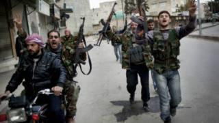Exército Livre da Síria. Reuters