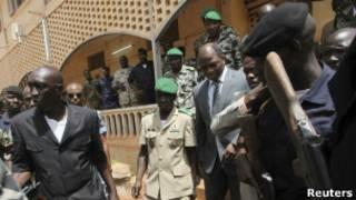 Líder de la Junta Militar de Mali.