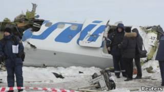 Место крушения ATR-72
