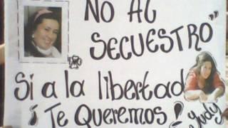 Afiche en apoyo de Judy Correal, víctima de secuestro