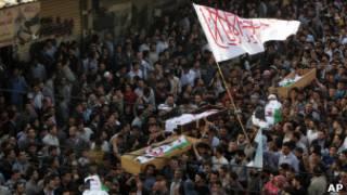 Korban kekerasan di Suriah