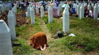 Kaburburan mutanen da aka kashe a yakin Bosnia
