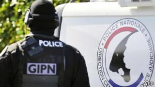 Operação antiterrorismo na França (foto de arquivo)