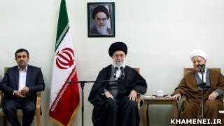 دیدار اعضای مجمع تشخیص با رهبر ایران