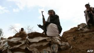 Вооруженные люди в Йемене