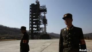 Солдаты КНДР на полигоне