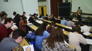 英国大学课堂