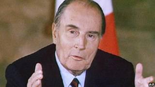 Mitterrand/AP