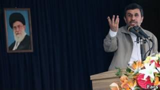 محمود احمدینژاد در استان هرمزگان