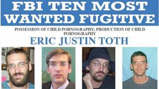 एरिक जस्टिन टोथ एफ़बीआई की सूची में