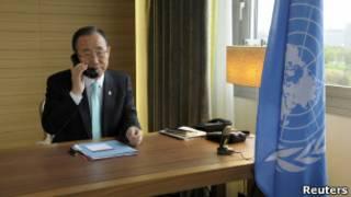 Пан Ги Мун звоник Кофи Аннану