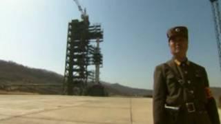 منصة اطلاق كورية شمالية
