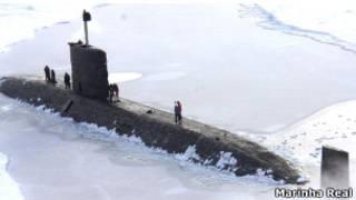 Submarino Britânico   Foto: Marinha Real