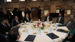छह विश्व शक्तियों और ईरान के बीच बातचीत