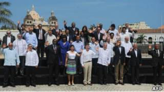 Các nhà lãnh đạo tham dự Hội nghị thượng đỉnh Các quốc gia châu Mỹ (OAS)
