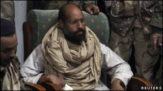 سیف الاسلام قذافی، فرزند معمر قذافی، رهبر سابق لیبی