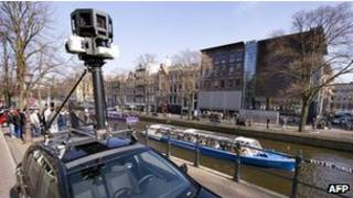 Carro do Street View (AFP)