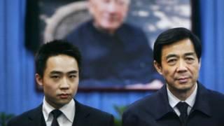 Bo Guagua y Bo Xilai