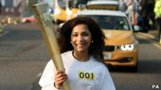 الشعلة الأولمبية