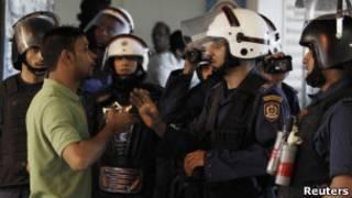 درگیری ها در بحرین