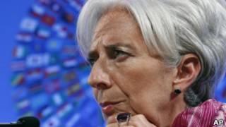 A diretora-gerente do FMI, Christine Lagarde