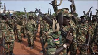 Abasirikare ba Sudani y'amajyepfo