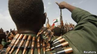 جنود من الجيش السوداني
