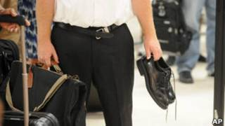 Меры безопасности в американском аэропорту