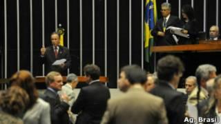 Plenário da Câmara (Ag. Brasil)
