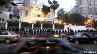 قاهره کې د سعودي سفارت