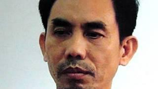 Hình ảnh ông Quân khi bị bắt giữ vào tháng 4/2012