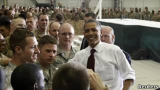 अफगानिस्तान में ओबामा