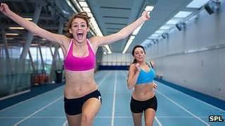 體育課女生