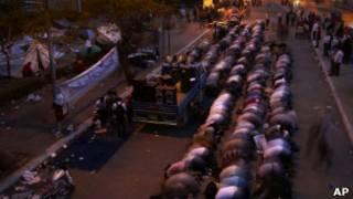 معتصمون مصريون