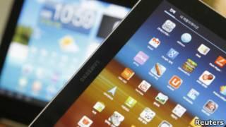 Tableta de Samsung