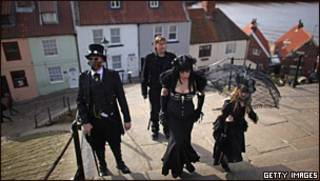 The Goth Weekend in Whitby